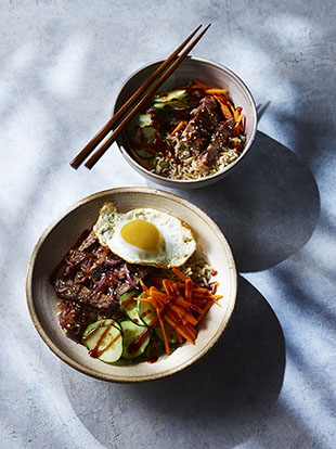 Sandy Tang's Korean Bulgogi Beef Bowl